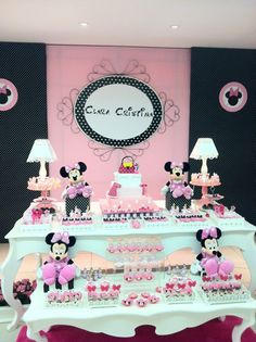 Minnie themed party