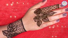 How To Apply Simple Arabic Mehndi Designs For Back Hands | Jewellery Sty...