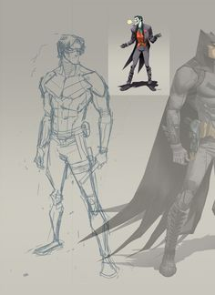 Nightwing by Dan Mora, via Behance