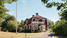 TIDIGT 1900-TAL STOCKSUND | Wrede Stockholm Archipelago, Scandinavian Art, Denmark, Cabin, Mansions, House Styles, Inspiration, Design, Home Decor