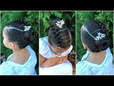 Braid Hairstyles for Kids – Lavish Braids Toddler Wedding Hair, Kids Hairstyles For Wedding, Mixed Kids Hairstyles, Kids Braided Hairstyles, Flower Girl Hairstyles, Toddler Hair, Little Girl Hairstyles, Little Girl Braids, Braids For Kids