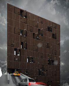 "Lavasan Hotel Apartment | Tehran, Iran | 2012 | Design | Residential | 8100 m2 | Design: Reza Mafakher ■ Read full description of ""Lavasan Hotel Apartment"" Project on : http://www.xemaarchitects.com/projects/detail/61 ■ #Lavasan_Hotel_Apartment #architecture #xema #avantgarde #rezamafakher #interiordesign #exteriordesin #xema_the_evolutionizer"