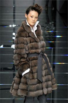 Carlo Tivoli Sable Fur Coat