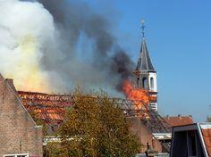 Brand in de Elleboogkerk