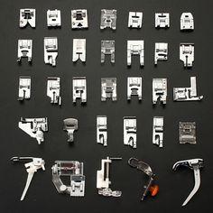 7-52 unids/set Presser pies Máquinas DE COSER Accesorios DIY patchwork Presser pie pedal Costura Herramientas kit Costura suministros