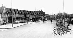 Hillingdon, Middlesex, England 1960 I lived here as a little girl (town, not this street) I was 1 yr old. Middlesex England, Places To Travel, Places To Visit, Old London, London Life, Close To Home, See Photo, 1960s, Nostalgia