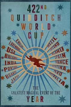 422nd Quidditch World Cup Print at AllPosters.com
