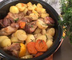 My Recipes, Cooking Recipes, Xmas Food, Food Categories, Pot Roast, Potato Salad, Sausage, Food And Drink, Meals