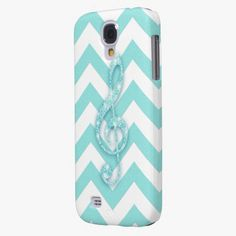 It's cool! This Glitter Musical Note teal chevron pern Music Samsung Galaxy S4 Case is completely customizable and ready to be personalized or purchased as is. Click and check it out!
