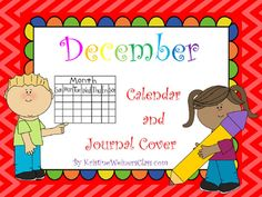 Support your students' calendar and number writing skills with this Calendar and Journal Cover set. Included are both a December journal cover and a variety of December calendars.  There are 2 themes for each set of December calendars and matching journal cover:  Winter and Gingerbread MenIncluded are multiple versions of December's monthly calendar so you can choose which version will best meet your students' needs.
