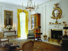 Drawing room at the George F. Baker house