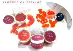 """Jabón en pétalos """" CL Espacio Artesanal """". Elegante presentación y variedad de fragancias. ¡¡ Únicos para regalar  o regalarte!!!"""
