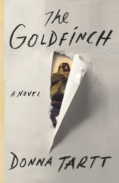 The Goldfinch, a novel by Donna Tartt; one of the best ones I have read in a long time.