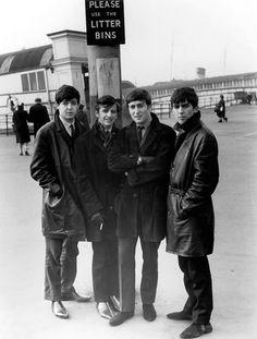 Paul McCartney, Richard Starkey, John Lennon and George Harrison