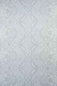 Elegantly detailed and subtly sexy, Laced is a traditional pattern that illustrates how hand screening can add dimension to one color patterns in ways digital Pvc Backdrop, Backdrops, Lace Wallpaper, Wallpaper Ideas, Color Patterns, Print Patterns, Pub Interior, Paper Lace, Pattern Paper