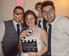 Grab a prop and strike a pose photo booth