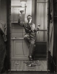 Willy Ronis, self portrait with flash, 1951