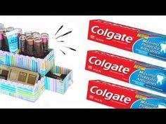 Ideias SUPER ÚTEIS com Caixa de Creme Dental #2 - YouTube