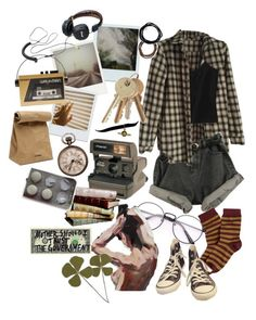 """here isn't where i wanna be"" by f00lish ❤ liked on Polyvore featuring art"