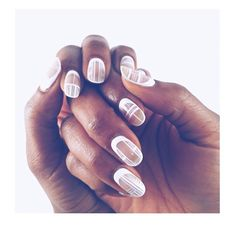 Negative space. Nails