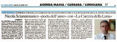 Edizioni Tracce: Nicola Sciannimanico «poeta dell'anno» con «La car...