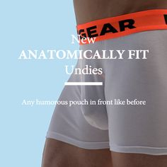 Luxury Anatomically Fit DMXGEAR boxers
