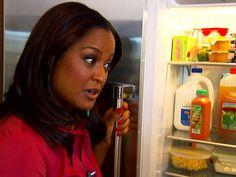 Inside Laila Ali's refrigerator