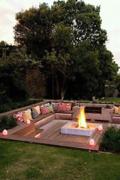 Like the fire pit.