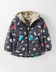 17007d5868f Sherpa Lined Anorak 25113 Coats  amp  Jackets at Boden Boden Kids