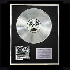 10 YEARS MINUS THE MACHINE CD PLATINUM DISC VINYL LP FREE SHIPPING TO U.K.