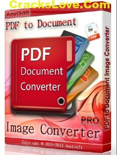 Aostsoft PDF to Document Image Ripper tools Pro can batch convert PDF to almost…