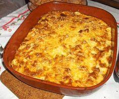 BACALHAU COM NATAS INGREDIENTES: 4 batatas grandes 2 Cebolas grandes 2 Dentes de alho 1 Folha de louro 2 Postas de bacalhau (demolhado) 100 ml de azeite q.b. 200 ml de natas 200 ml de leite 2 Colheres (sopa) de farinha 2 Colher de (sopa) de manteiga 2 Colheres de (Sopa) de queijo ralado Óleo … Easy Cooking, Cooking Recipes, Healthy Recipes, Natas Recipe, Bacalhau Recipes, Dominican Food, Good Food, Yummy Food, Portuguese Recipes