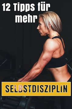 self-discipline: 12 practical tips for more discipline - Learn discipline: 12 tips for more self-discipline. -Learn self-discipline: 12 practical tips for more discipline - Learn discipline: 12 tips for more self-discipline. Fitness Workouts, Yoga Fitness, Health Fitness, Fitness Quotes, Burn Fat Build Muscle, Bodybuilding, Gewichtsverlust Motivation, Exercise Motivation, Mental Training