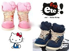 Get these cute Hello Kitty shoes at Rakuten Global Market now!