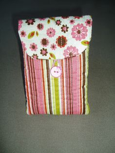 Tissus, hilos & CRAFTS: Mobile Phone Pouch Tutorial