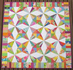 Stashbuster quilt, Red Pepper Quilts