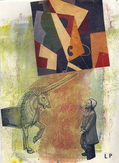 Linda Pelati  With Dover publications I enjoy art & collage