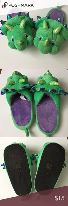 *FIRE SALE* DINO SLIPPERS Asos Dino Slippers size large ASOS Shoes