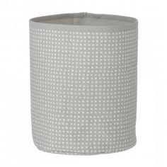 Ferm Living Grey Cross Basket Small