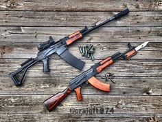 - Vepr12 and WASR10 with Russian wood. Nothing better looking than a AK with real Russian wood. - - - @craigf1974 - - - #vepr12 #vepr…