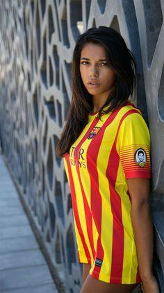 Sexy girls in barcelona jerseys photo 348