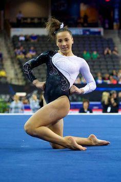 Amelia Hundley (Cincinnati Gymnastics) 2013 U.S. Secret Classic. Second AA junior division.