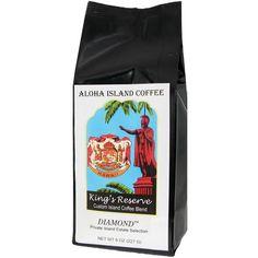 Kona Smooth Hawaiian Coffee, Exclusive DIAMOND, 8 Oz Whole Bean - http://www.teacoffeestore.com/kona-smooth-hawaiian-coffee-exclusive-diamond-8-oz-whole-bean/