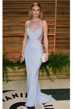 Oscars 2014 | Rosie Huntington-Whiteley in Cushnie et Ochs