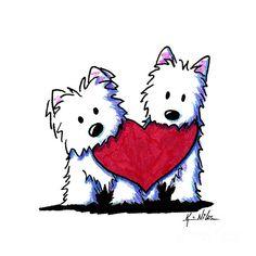 http://fineartamerica.com/featured/kiniart-westie-heartfelt-duo-kim-niles.html