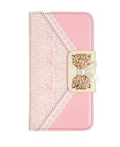 iphone 6 Case, Crosspace® Vintage Wallet Cases Handbag Lace Bowknot Flip PU Leather Protective Shell Stand Cover for Apple iphone 6 4.7inch (Pink) - http://leather-handbags-shop.com/iphone-6-case-crosspace-vintage-wallet-cases-handbag-lace-bowknot-flip-pu-leather-protective-shell-stand-cover-for-apple-iphone-6-4-7inch-pink/