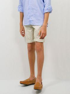Boy's Shorts 22758 Stone Tan