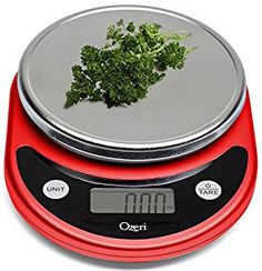 Amazon.com: Ozeri ZK14-R Pronto Digital Multifunction Kitchen and Food Scale, Red: Kitchen & Dining