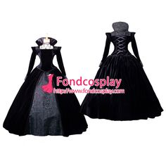 Victorian ROCOCO Gown Ball dress Gothic Costume Tailor-made
