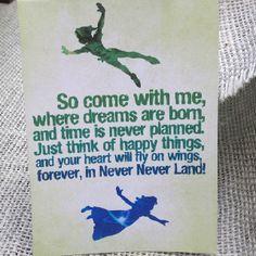 Peter Pan party. Cute.